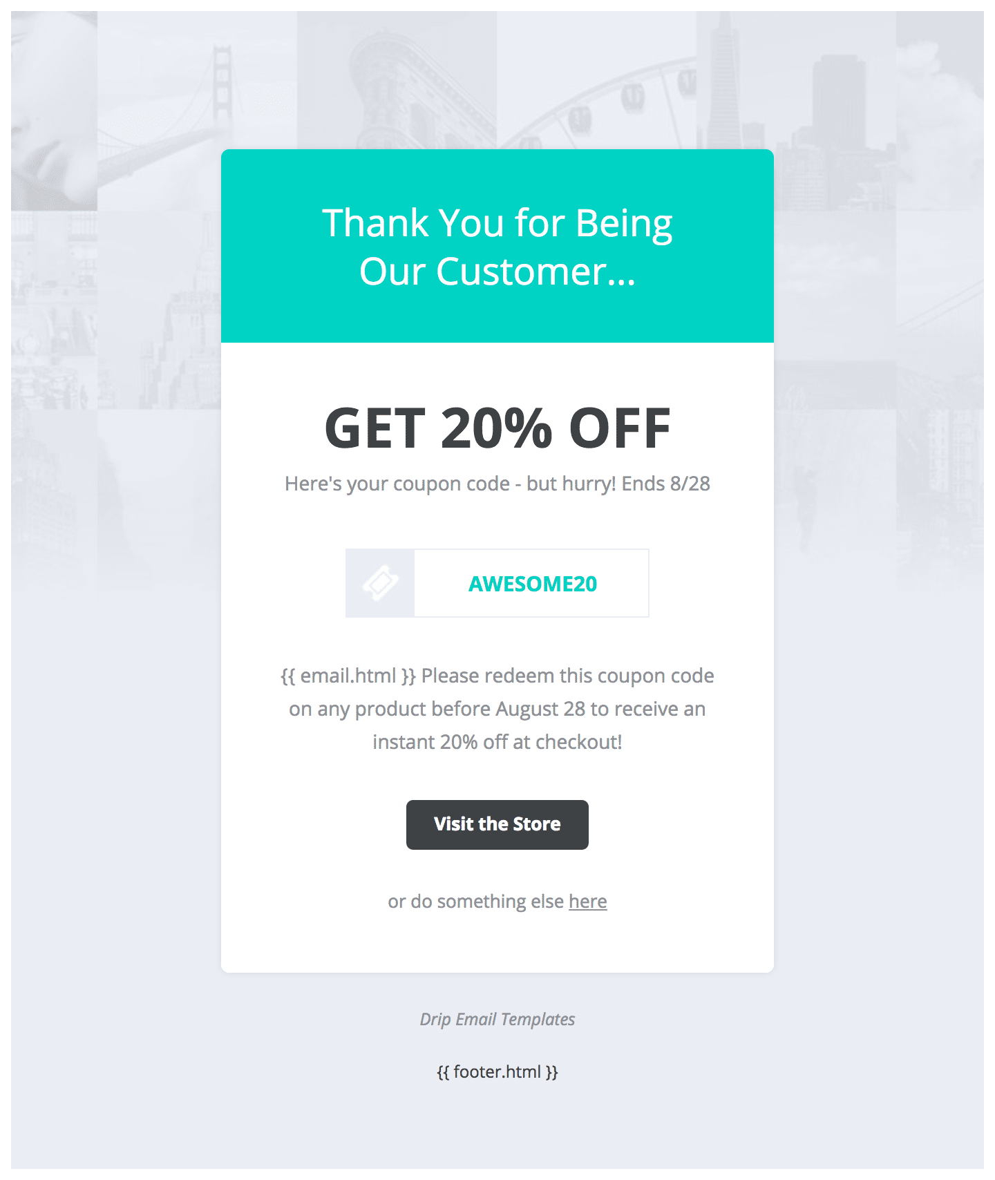 Drip Email Templates - Easy to Import Drip Email Templates