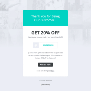 Coupon Code Template