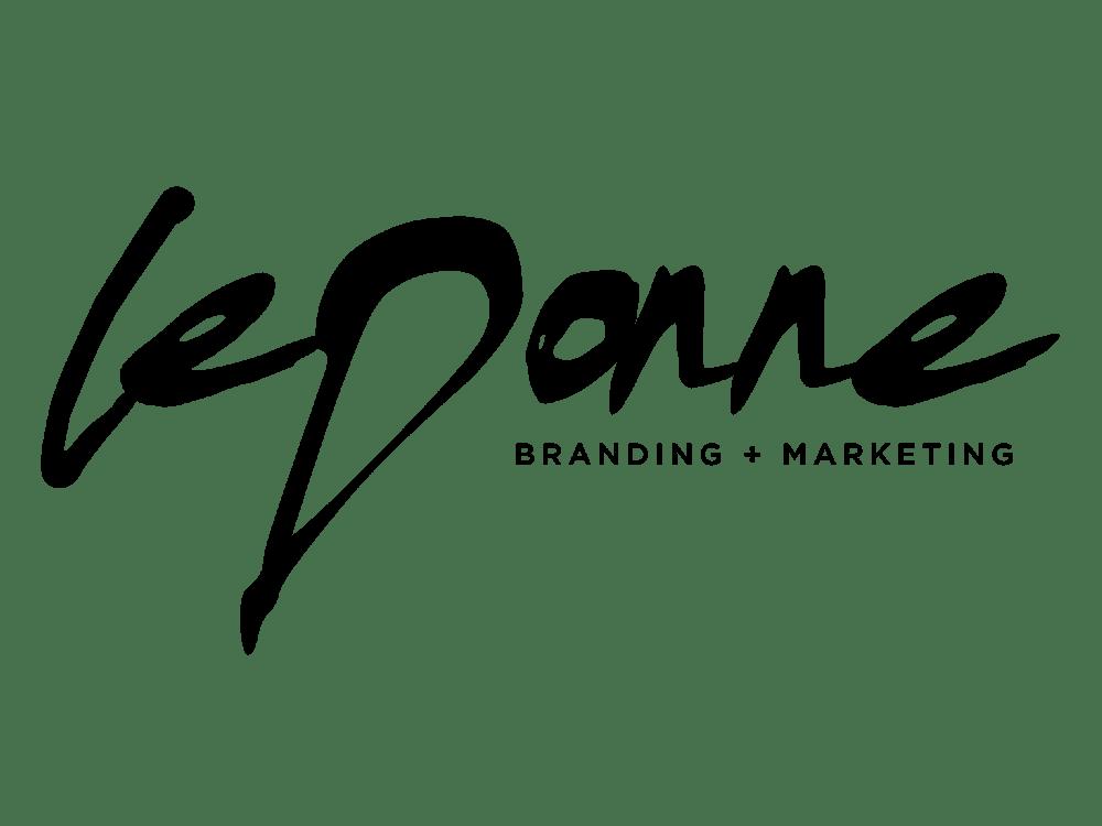 LeDonne Branding + Marketing Logo