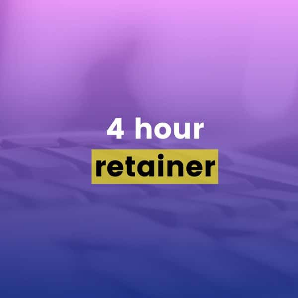 Drip Email Templates - 4 Hour Retainer