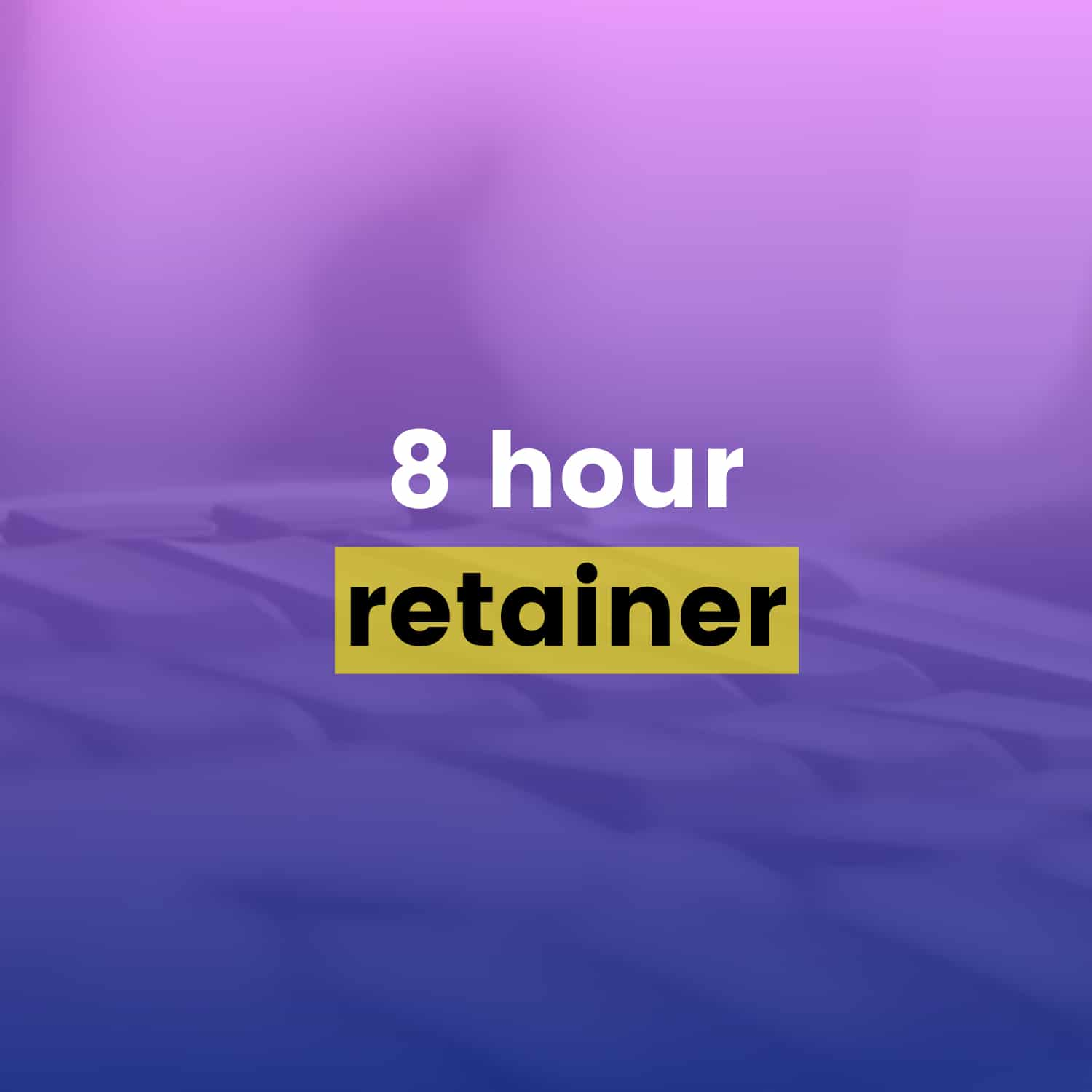 Drip Email Templates - 8 Hour Retainer