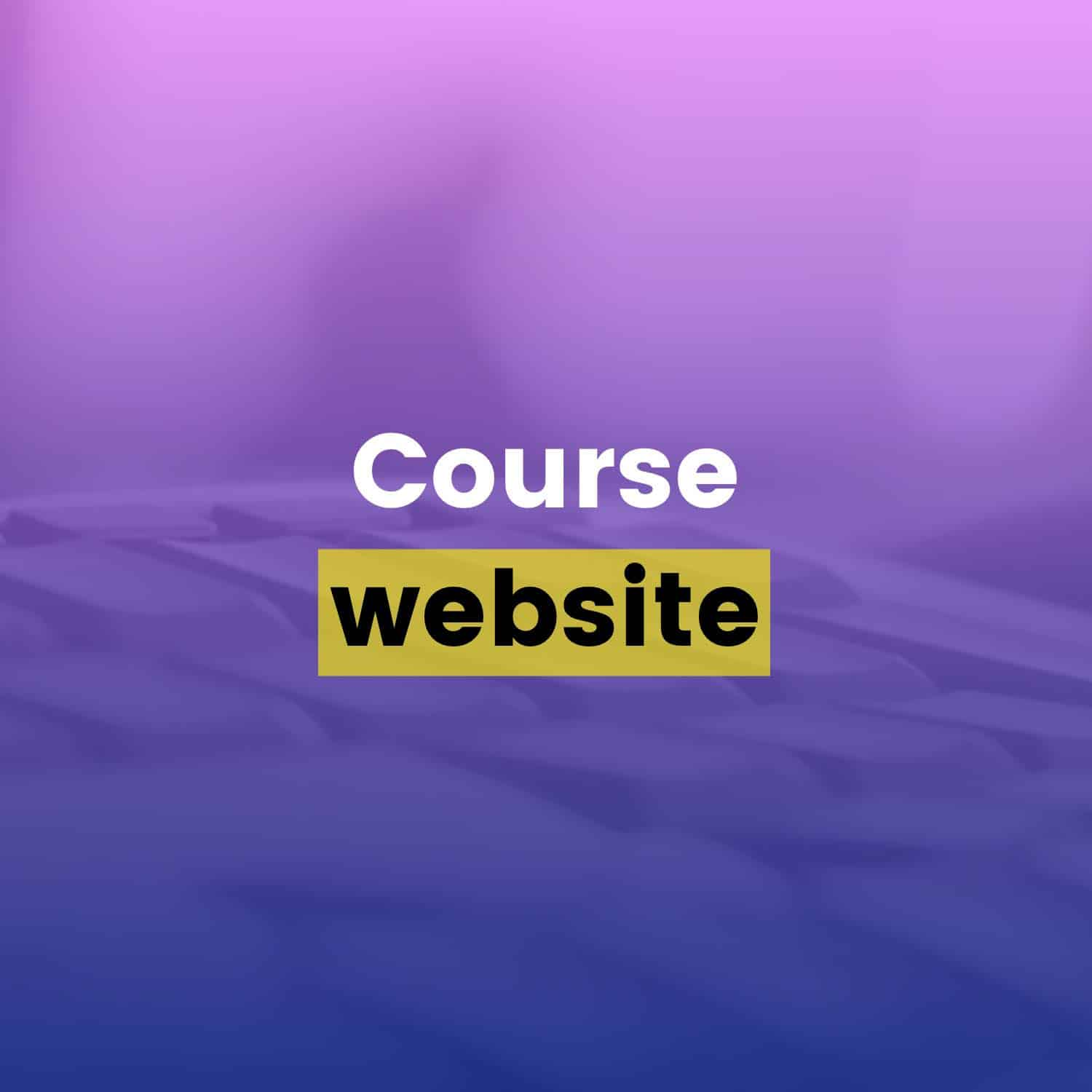 Drip Email Templates - Course Website