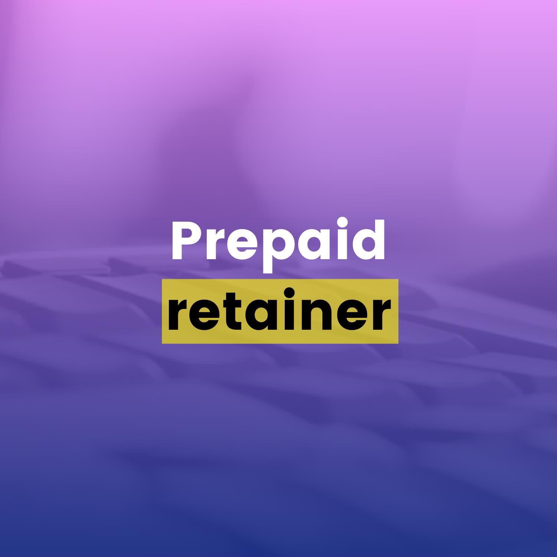 Drip Email Templates - Prepaid Retainer