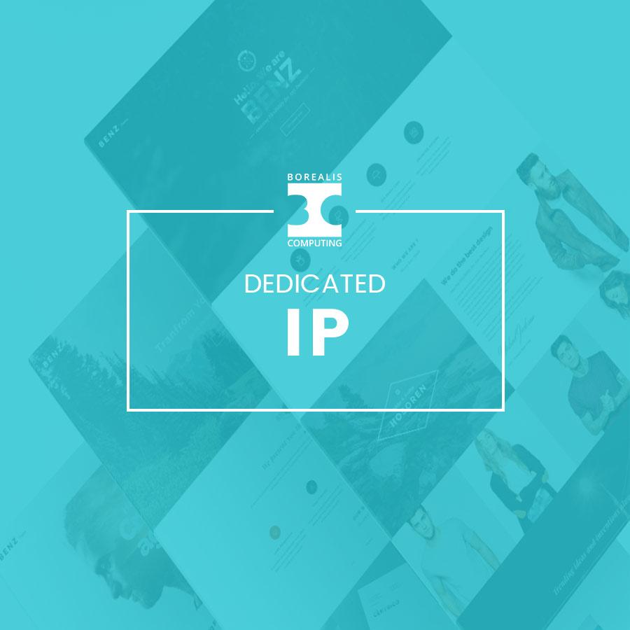 Dedicated IP Address Product Thumbnail